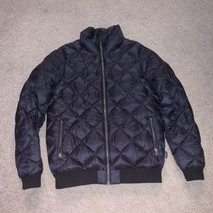 Patagonia women quilted black M puffer jacket